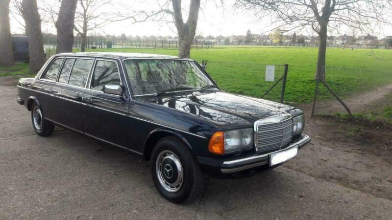 1983 MERCEDES BENZ 250 LIMOUSINE W123 LOW MILEAGE 8 SEATS IN BLUE COLOUR |  in Wembley, London | Gumtree