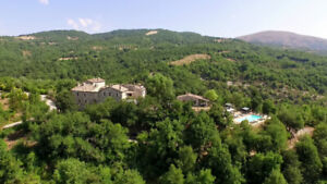 Villa & Charming apartments in Umbria