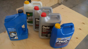 VARIOUS AUTO FLUIDS FOR SALE