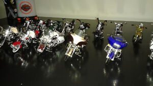 collections 15 petites motos HARLEY