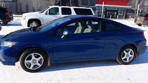 2013 Honda Civic LX Coupe, 78000 km