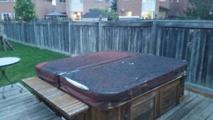 Used Hot Tub 4 Sale