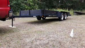 utility flat deck trailer Peterborough Peterborough Area image 1