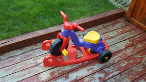 Fisher-Price Rock, Roll 'n Ride Trike XL/ Tricycle Fisher Price