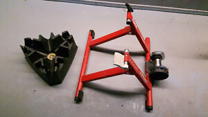 TACX Cycletrack Trainer w/ CycleOps Riser Block