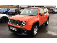 2016 Jeep Renegade 1.6 E-torQ Longitude 5dr Manual Petrol Hatchback