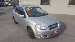 2008 Chevrolet Aveo LT Sedan *** SUNROOF *** CERTIFIED $4495