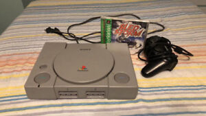 Play Station 1 Fat W/ Sled Storm