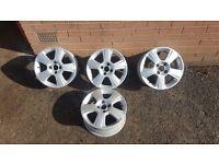 "15"" Vauxhall corsa meriva astra full set of alloy wheels"