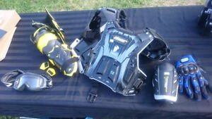 Dirtbike / moto protective gear - barely used