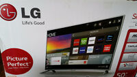 """50"""" LG LED Smart TV Brand New Can Deliver Magic Remote!"""