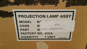EiKi Lamp 6450047763 LC-120U LC-120, LC-120PAL projector 645 004