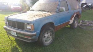 1986 GMC Jimmy SUV, Crossover Father/Son project