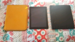 iPad for sale with a Coach and Mead case!