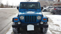 2003 Jeep TJ sports Coupe (2 door)