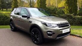 2017 Land Rover Discovery Sport 2.0 SD4 240 HSE Black 5dr + 7 Automatic Diesel