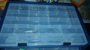 2 Tackle boxes full of gear and 2 Baitcaster reels w/ ugly stick Windsor Region Ontario image 6