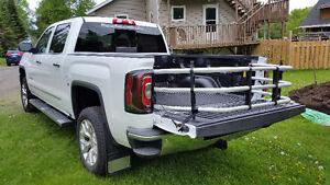 GMC truck box cargo extender