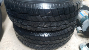 Hankook 215 70r15  iPike RC01 Snow Tires