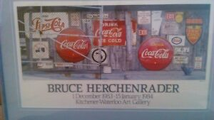 Bruce Herchenrader Collectable Local Art- REDUCED