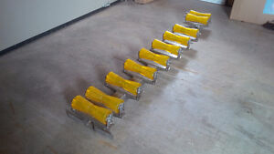 Convert your boat trailer to a roller trailer.