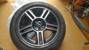 Mags Fast 5x114,3 5x100 pneus 205 60R16 et valves tpms