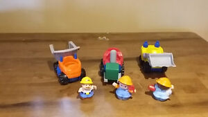 Fisher price little people construction vehicles