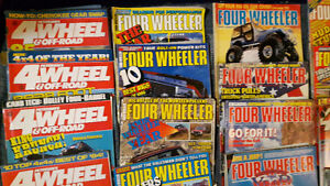 VINTAGE 80's 4x4 FOUR WHEEL DRIVE OFF ROAD TRUCK JEEP MAGAZINES