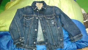 kids size XS jean jacket