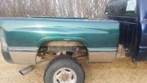 SELLING 2nd Gen Dodge truck box, no end gate
