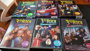 6 seasons of 3rd rock from the Sun