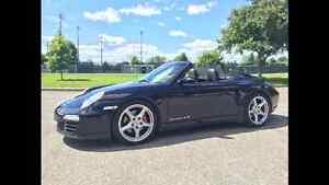 Porsche 911 carrera 4s 2007 convertible negociable