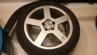 "Volvo Pegasus ""R"" Replica Wheels, 17x7.5"" +43ET"