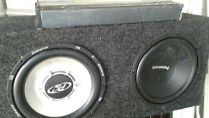2 subs with coustic amp
