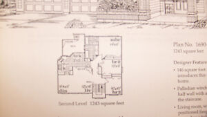 House Plans - Complete/Pristine blueprints for 1,243 sq.ft home Comox / Courtenay / Cumberland Comox Valley Area image 3