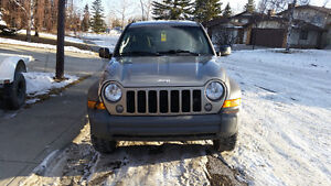 2006 Jeep Liberty Trail rated SUV, Crossover