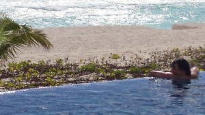 RENOVATED BEACHFRONT CONDO IN CANCUN CLUB ZONE
