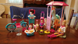 Barbie Vet and Animal Lot