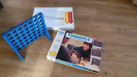 Vintage Connect 4 Game Good Condition & Complete 4 in a row pet smoke