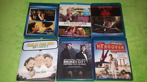For sale, blu-ray movies bundle all for 20 dollars.