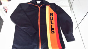 Vintage Belleville Bulls Warm-up Jacket