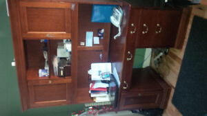 executive desk solid wood