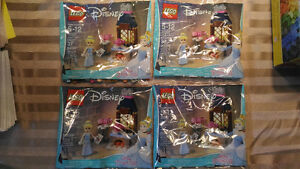4x Lego Disney Cinderella's Kitchen Polybags free child Legoland