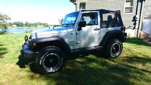 2012 Jeep Wrangler Sport - BDS Lift Kit