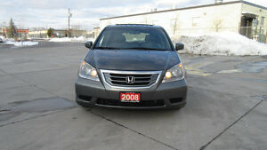 2008 Honda Odyssey EXL,DVD, 8 Pass, Leather,roof, warranty avail