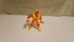 Vintage WWF 1990 Hulk Hogan Rules Action Figure By Hasbro