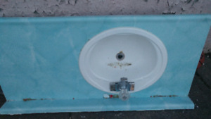 FREE Bathroom Counter Top, Sink and Faucet