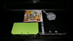 Lime green amazon exclusive new 3ds xl