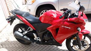 Honda moter cycle CBR (2013)
