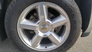 "20"" polished alloy wheels / Rims"